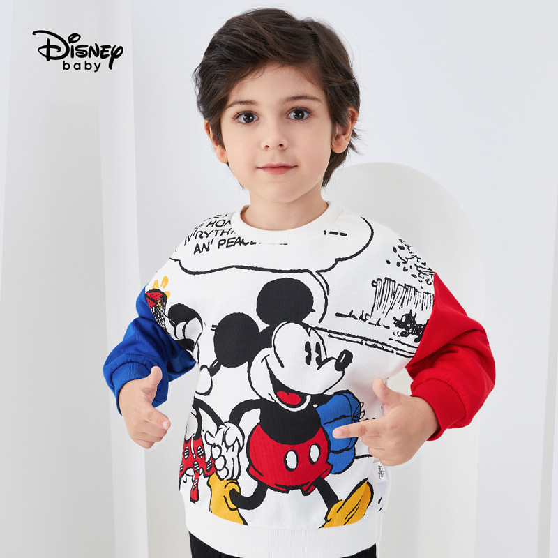 Original Disney Autumn 2020 Mickey Sweater For Boys Jacket For Baby Baby Boy Clothes Baby Boy Coat DB031EE08