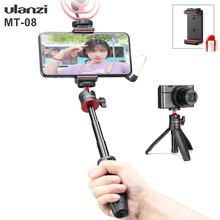 Ulanzi MT-08 Extension Pole Tripod Mini Selfie Stick Tripod Osmo Pocket Vlog Kit for Canon G7X Mark III Sony RX100 VII A6400