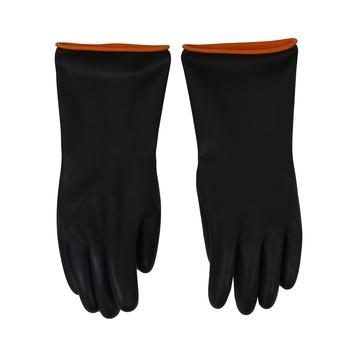 Para 14 5 #8222 długości kwasoodporne rękawice chemiczne odporna guma tanie i dobre opinie Other NONE CN (pochodzenie)