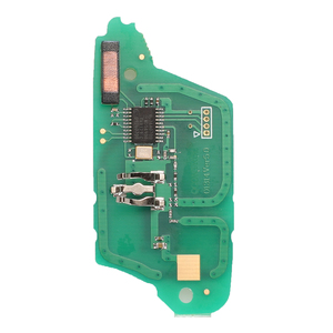 Image 4 - Bilchave 10pcs For Renault Clio III Clio3 Megane Kangoo Master Modus Lada FOB 2 Buttons ASK /FSK 433MHz Car Key Circuit Board