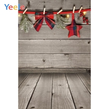 Yeele Merry Christmas Photography Backdrop Winter Tree Snow Wood Board Custom Photographic Background For Photo Studio Props sjoloon christmas photography backdrops christmas tree photographic background snow photo backdrop fond photo studio vinyl props