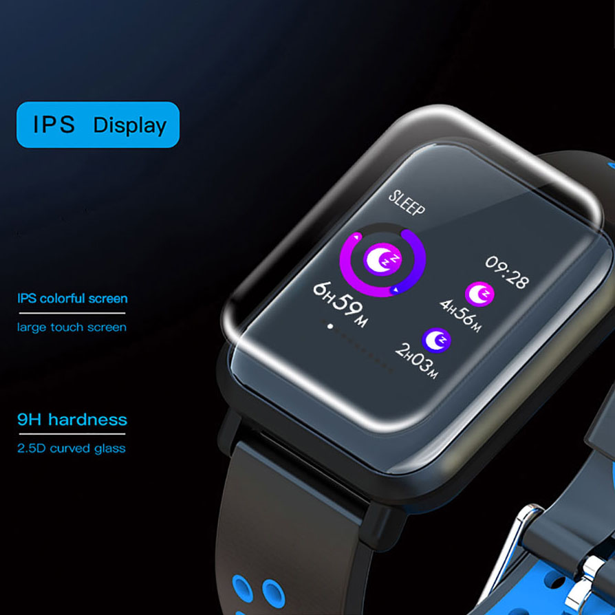 D13 Men Smart Watch For Android Apple Phone Heart Rate Tracker Blood Pressure Oxygen Waterproof Sport Smartwatch Women Reloj in Digital Watches from Watches