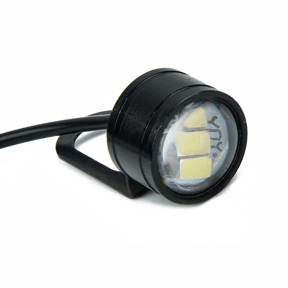 Universal 2 pçs motocicleta led farol moto condução spotlight rua moto nevoeiro ponto cabeça luz da lâmpada da motocicleta elétrica