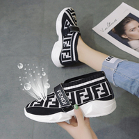 2019 shoes woman Spring and autumn new fashion wild ladies flat sneakers comfortable breathable Slip on Women's vulcanized shoes