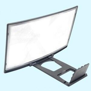 Image 4 - Voor 12Inch 3D Curve Screen Magnifier Voor Mobiele Telefoon, Hd Versterker Projector Magnifing Screen Vergroter Voor Films, video S, En Fo