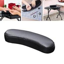 Nail Arm Rest Cushion PU Leather Manicure Hand Pillow Pad Table Desk Station Detachable Washable For Nails Art Salon Home