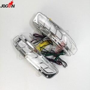 Image 4 - Динамический поворотный сигнал, парковочная площадка, Светодиодный Боковой зеркальный последовательный индикатор для Toyota Land Cruiser LC200 FJ200 Prado FJ150