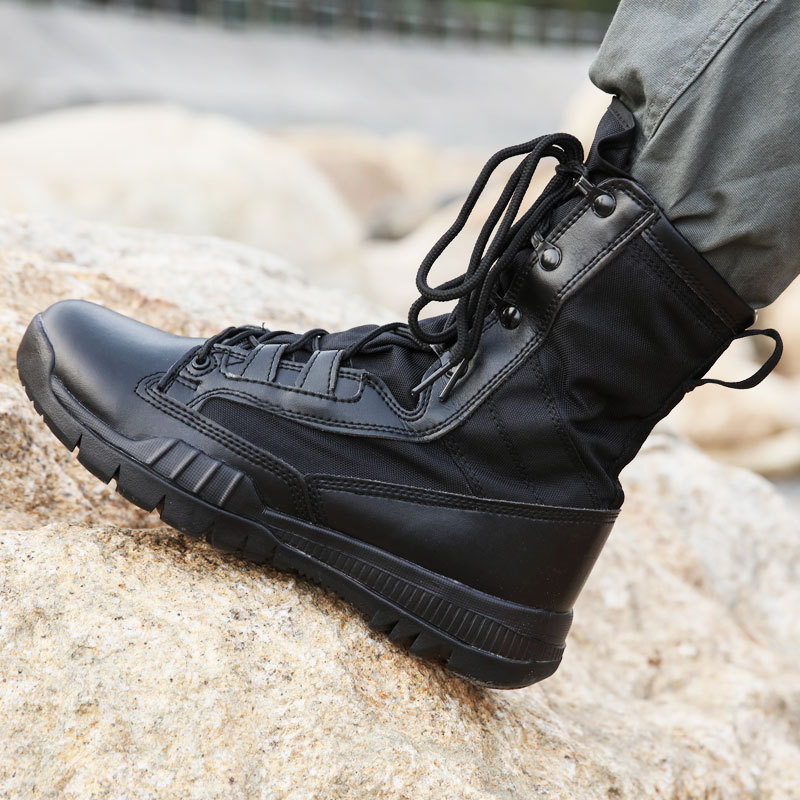 Manufacturers Direct Selling CQB Ultra-Light Combat Boots Autumn Combat Boots 07 Combat Boots Outdoor Hight-top Combat Boots