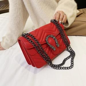 Image 5 - 高級ハンドバッグの女性のバッグデザイナーハンドバッグ高品質 2019 嚢主な新puレザークロスボディメッセンジャーバッグ女性のための