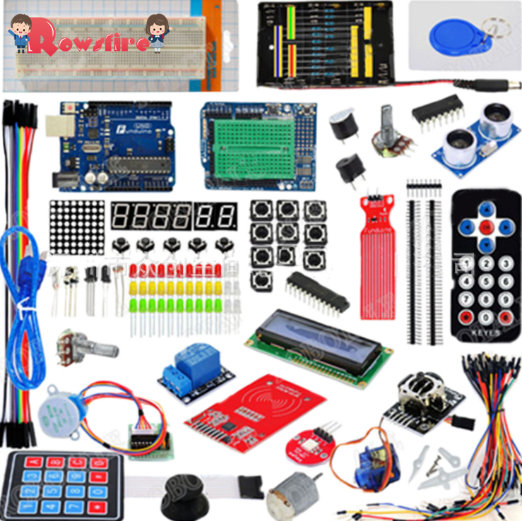 Upgrade Version Development Board Kit With Poly Dome For Arduino R3