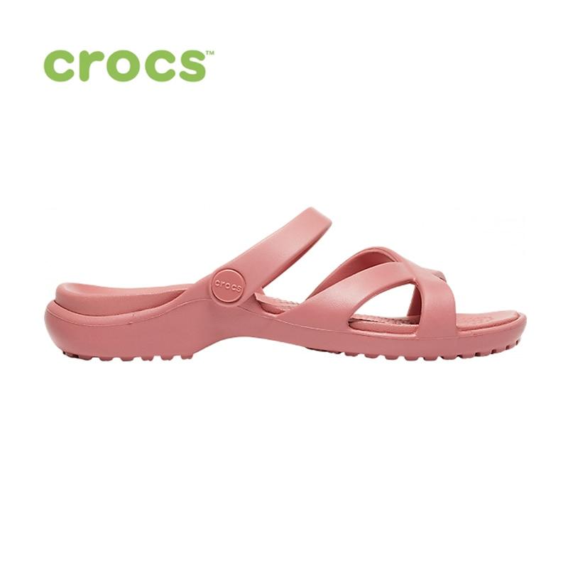 CROCS Meleen CrossBand Sandal W WOMEN|Тапочки|   | АлиЭкспресс