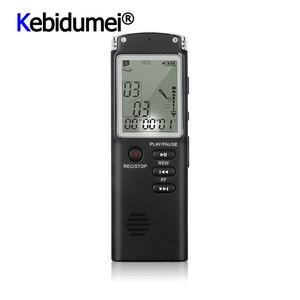 Image 1 - מקצועי 8GB מקליט קול עט USB MP3 נגן mult פונקצית דיקטפון הדיגיטלי אודיו מקליט ראיון עם VAR/VOR