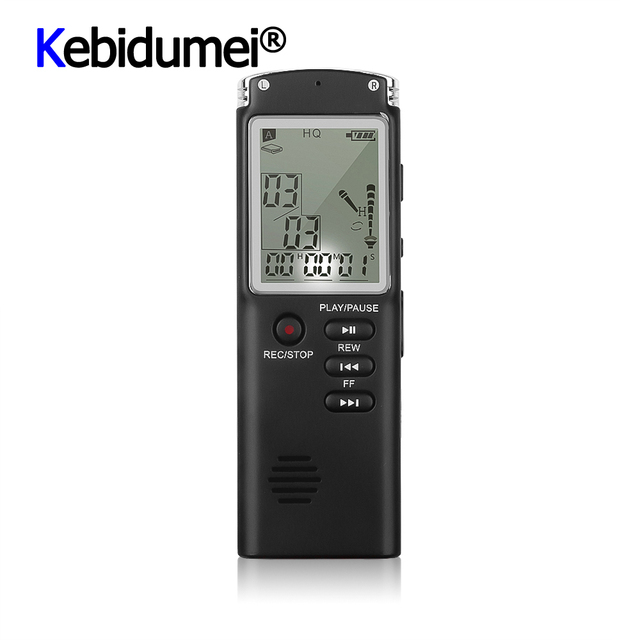 מקצועי 8GB מקליט קול עט USB MP3 נגן mult פונקצית דיקטפון הדיגיטלי אודיו מקליט ראיון עם VAR/VOR