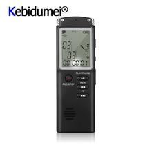 Penna per registratore vocale professionale da 8GB lettore MP3 USB dittafono multifunzione registratore di intervista Audio digitale con VAR/mos