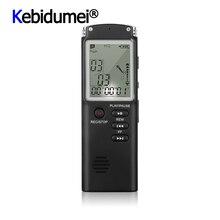 Profesyonel 8GB ses kaydedici kalem USB MP3 çalar çok fonksiyonlu kulaklık dijital ses röportaj kaydedici VAR/VOR