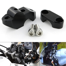For Triumph Speed Triple 675 750 900 955i 1050i T 509 SPEED FOUR Handlebar Riser 22mm 7/8 Back Moved Mount Risers