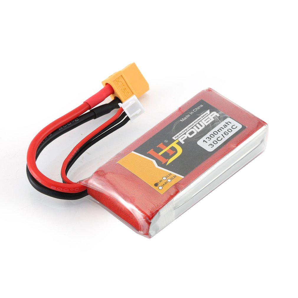 HJ 11.1V 1000MAH 25C 3S Lipo Battery JST Plug Rechargeable For RC Racing Drone Helicopter Car Boat Model