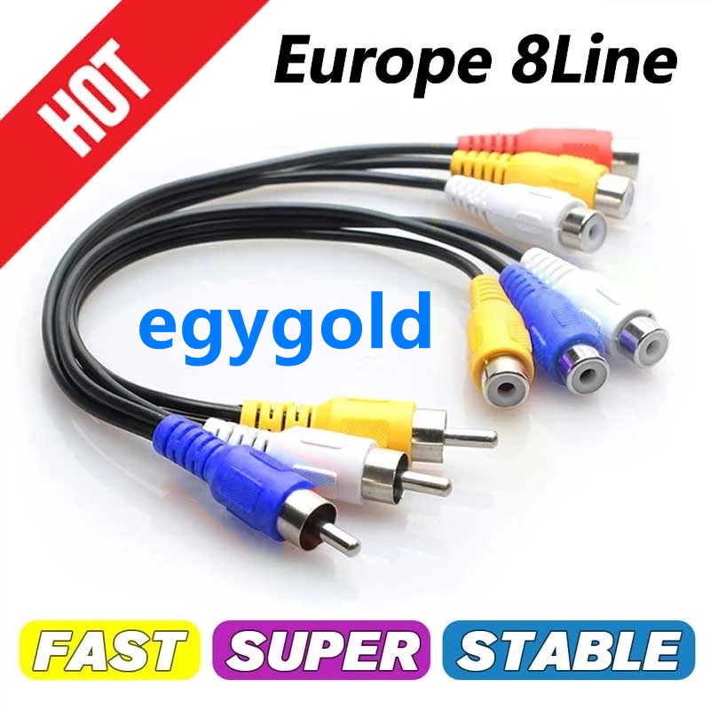 ℃ccam cline for Europe Spain Germany Portugal Poland Stable Receptois ccam patible with speaker satellite TV DVB-S2  test 48h