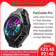 Оригинальный вентилятор Black Shark 3 Pro 2 Pro FunCooler с жидкостным охлаждением, охлаждающий вентилятор RGB с холодной подсветкой для xiaomi, samsung, iphone, охла...