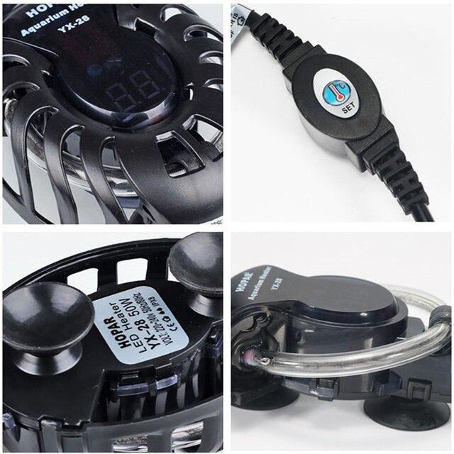 Tige chauffe-eau Submersible pour Aquarium | Mini contrôleur de température automatique, réservoir de tortues de poisson 220V, Thermostat