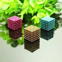 Novo 3mm 4mm neo magnético cubo mágico bolas blocos de quebra-cabeça ímã contas presente natal para crianças