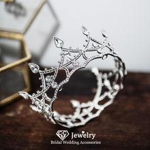 CC Wedding Crown Women Hair Accessories Engagement Hairbands Bridal Tiaras Mini Crowns Korea Style Headwear Princess Diadem HS85