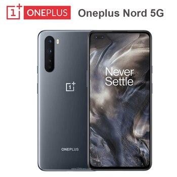 Перейти на Алиэкспресс и купить 2020 Новый OnePlus Nord Snapdragon 76 5G 5G смартфон 12 Гб 256 6,44 ''90 Гц жидкости активно-матричные осид, 48MP 8GB 128GB Quad камеры мобильный телефон