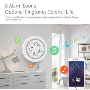 Image 5 - NEO Coolcam capteur de température humidité, alarme Wifi, sirène Tuya, compatible avec Google Home Assistant