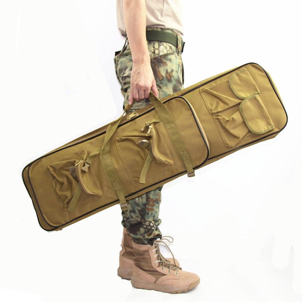 Military Shooting Gun Case Rifle Bag Bolsa Tactical Hunting Rifle Case 85cm 95cm 120cm Airsoft Hunting Bag