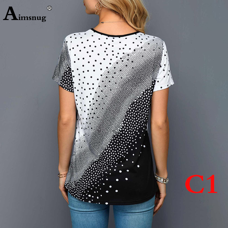 H499627d6b7f64872bb547ee1ebf36b7co - Plus size 4xl 5xl Women Fashion Print Tops Round Neck Short Sleeve Boho Tee shirts New Summer Female Casual Loose T-shirt