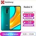 Глобальная версия Xiaomi Redmi 9 3 ГБ 32 ГБ / 4 ГБ 64 ГБ смартфон Helio G80 8-ядерный 13Мп Четыре камеры с ИИ 6,53