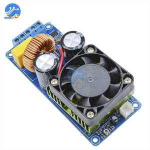 Image 3 - IRS2092S 500W wzmacniacz Mono Board klasy D HIFI wysokiej mocy cyfrowy wzmacniacz 20Hz 20KHz ochrona głośników z wentylatorami