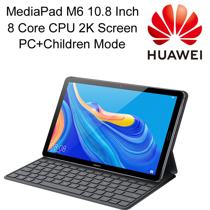 Alta qualità HUAWEI MediaPad M6 Tablet PC 4G LTE 10.8 pollici 2K Display Octa Core 13MP fotocamera Harman tastiera 7500 mAh batteria