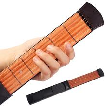 Pocket Guitar Chord-Trainer Beginner-Strings Portable 6-Fret 1pcs Practicing-Tool