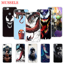 Venom Marvel Cool TPU Phone Cases for Huawei Honor 8X 20 9 10 Lite 8A 10i 20i 8S V20 Y5 Y6 Y7 Y9 2019 Coque Cover Capa