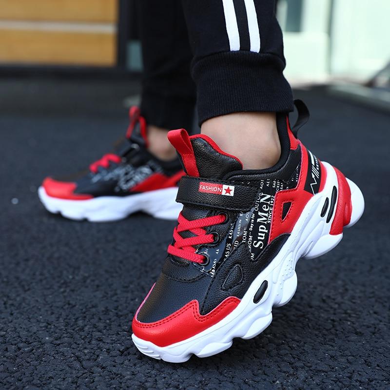 SKHEK Autumn Kids Sports Shoes Children Casual Boys Sneaker Fashion Spring Girls Anti-Slippery Breathable Leisure