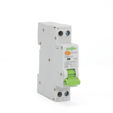6KA 18mm RCBO Curve B 16A 30mA 1P+N Residual Current Circuit Breaker with Over Current and Leakage Protection Differential