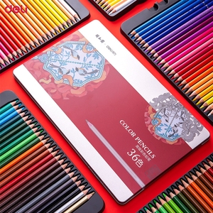 Image 4 - Deli Summer Palace Series 68126 Colored Pencils Colored Pencils 36/48/72 Color Painted Pencils Quality Metal Box