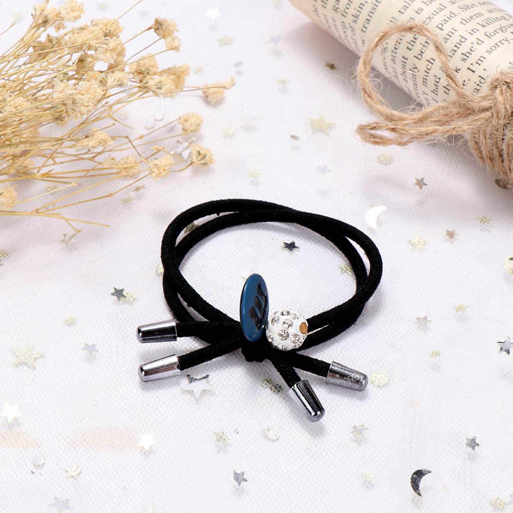6PCS น่ารักยางวงแหวนผมวงยืดหยุ่นของเล่นสำหรับหญิง Handmade โบว์แถบคาดศีรษะผมเด็กอุปกรณ์เสริมสำหรับสตรี