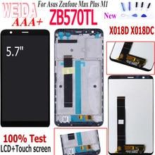 WEIDA – écran tactile LCD pour Asus Zenfone Max Plus M1 ZB570TL X018D X018DC, avec capteur, assemblage complet, ZB570TL