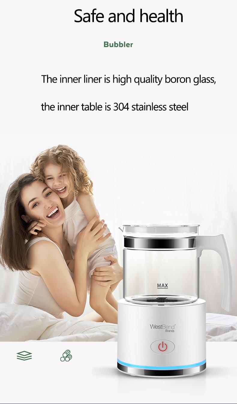 elétrico leite a vapor creme leite foamer