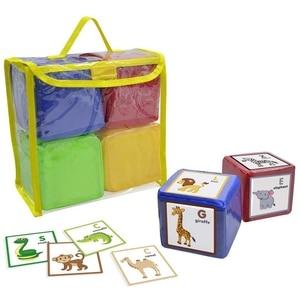 Image 3 - DIY edukacja gra w kości, kieszonkowe kwadratowe serwetki, kieszeń na zdjęcia piankowe bloki do układania w stosy zestaw 4 sztuk