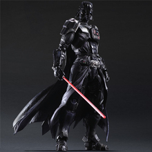 Star Wars Darth Vader Black series Jedi knight Action figure Boba Fett Model Black Samurai Anime figure Toy for Kids Decoration play arts kai square enix star wars boba fett figma movable playarts pa variant speelgoed action figure model