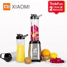 XIAOMI QCOOKER CD BL01 meyve sebze karıştırıcılar fincan pişirme makinesi taşınabilir elektrikli sıkacağı mikser mutfak mutfak robotu kolay