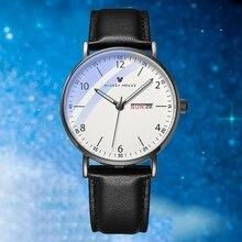 Big Sale Teen Fashion Wristwatch Young Man Quartz Watches Calendar Child Hour Black Steel Time Luminouse Boy Gift Mens Top Clock