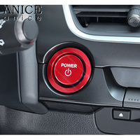 Engine Start / Stop Push Button Cover Trim Fit For Lexus UX 2019 250H 200 Accessories ABS car stickers and decals