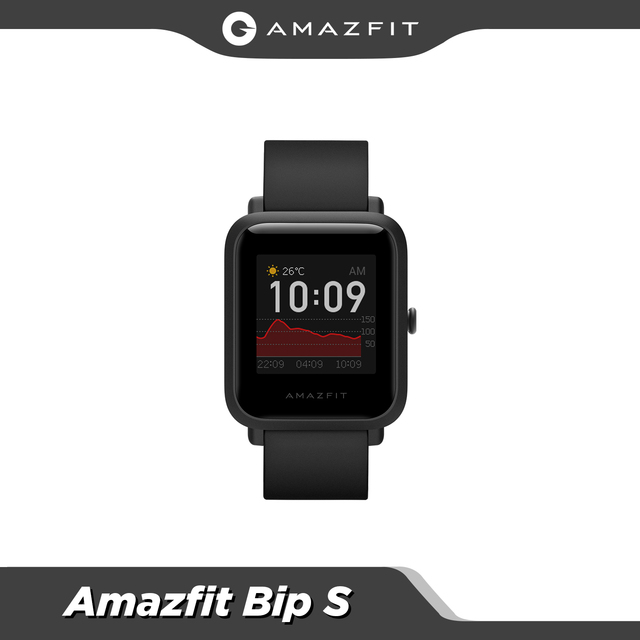 In stock Amazfit Bip S Global Version Smartwatch 5ATM GPS GLONASS Smart Watch for android iOS Phone 1