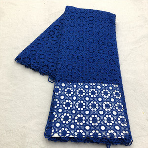 Image 3 - MAIGALAN High quality nigerian wedding african lace fabric/100% Cotton lace/guipure cord lace fabric for wedding party SML788 02