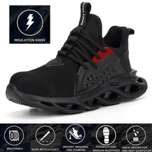Work-Safety-Boot Safety-Sneakers Construction Steel Anti-Smashing for Men Shoes Toe-Cap