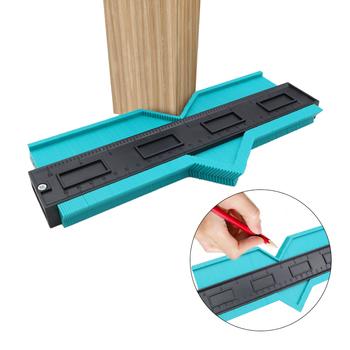 Kształt Contour Gauge duplikator profil narzędzie pomiarowe kontur duplikator szablon konturu plastikowy kontur kopiuj duplikator tanie i dobre opinie HEONYIRRY CN (pochodzenie) Woodworking NONE J486-2